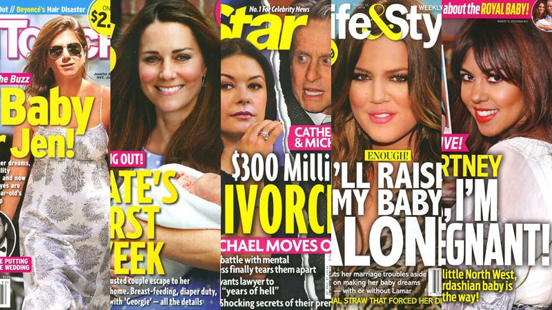 This Week in Tabloids: First Pix of Jennifer Aniston's 'Baby Bump'