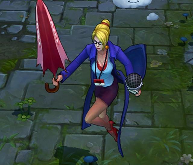 The Latest Addition To League of Legends Is... A Weather Forecaster