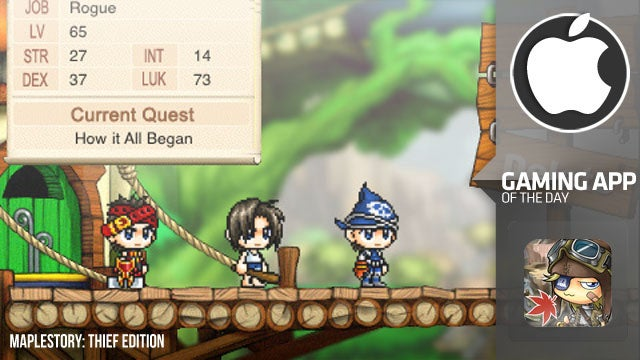 MapleStory: Thief Edition is a Two-Dimensional Adventure