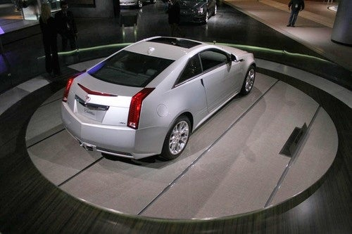 Cadillac CTS-V Coupe: Detroit Auto Show Photos