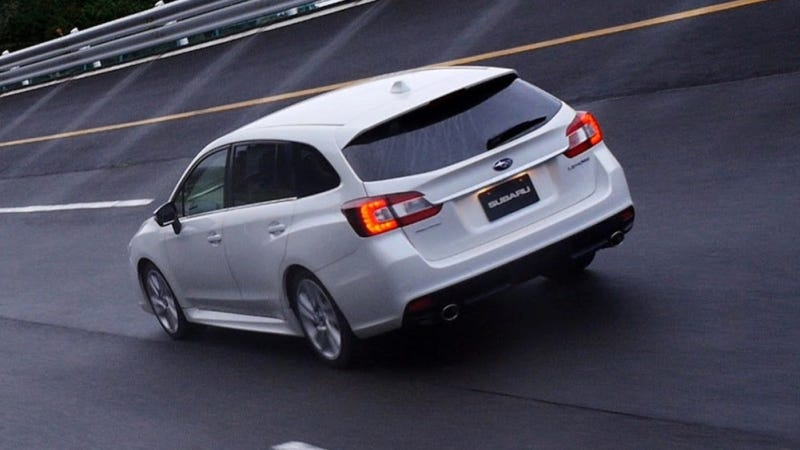 The Subaru Levorg Is A Hot Turbocharged Wagon With A Goofy Name