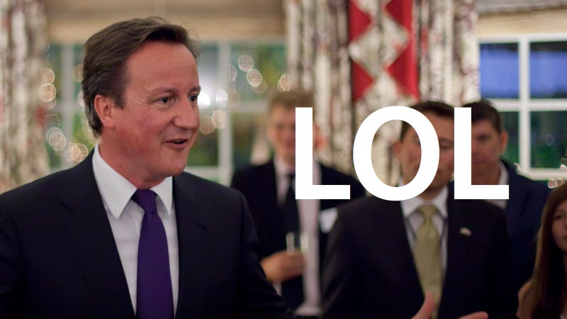 UK Prime Minister Thought 'LOL' Meant 'Lots of Love'