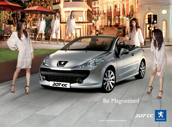 Ad Watch: Chinese Zombie Women Love Peugeot Convertibles