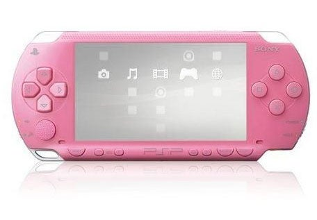 Sony Paints the Town Pink With Its PSP This October