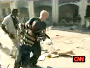 Anderson Cooper Saves Boy as CNN's Haiti Coverage Reaches Strange Apotheosis