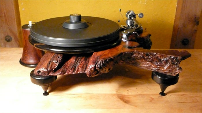 Audiowood Turntables: Because Technics Are Too Cold and Modern