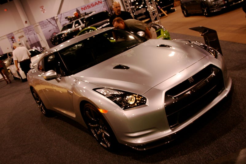 Nissan Gets Ballsy, Breaks Out Bone-Stock GT-R For SEMA