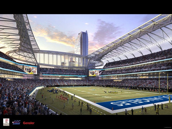 Los Angeles May Not Have An NFL Team, But It Does Have Three Shiny Stadium Designs