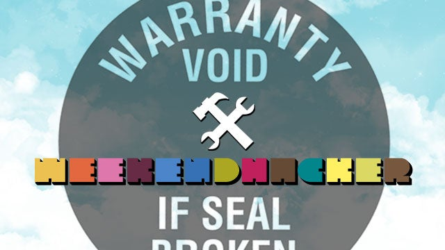 Hack Your Gadgets and Void Your Warranties This Weekend