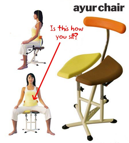 Chair Lifts and Separates Your Butt Cheeks For Maximum Comfort