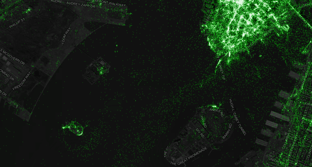 The Most Detailed Tweet Map Ever Includes 6,341,973,478 Tweets