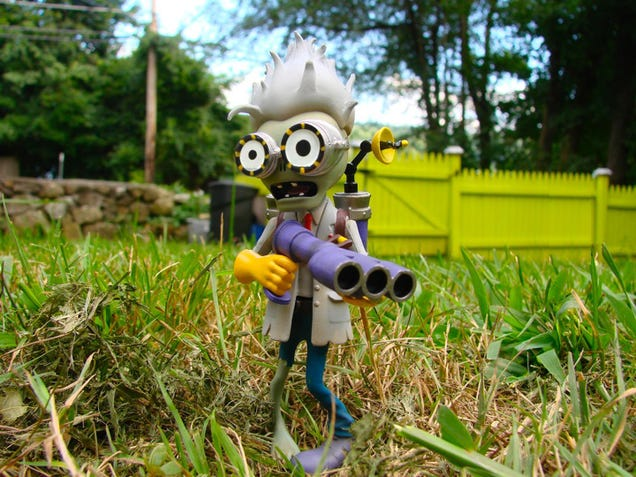 The Plants Vs Zombies Garden Warfare Action Figures Are Coming
