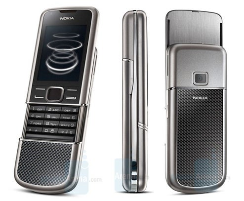 Nokia Pimps 8800 Cellphone With Carbon Arte Version