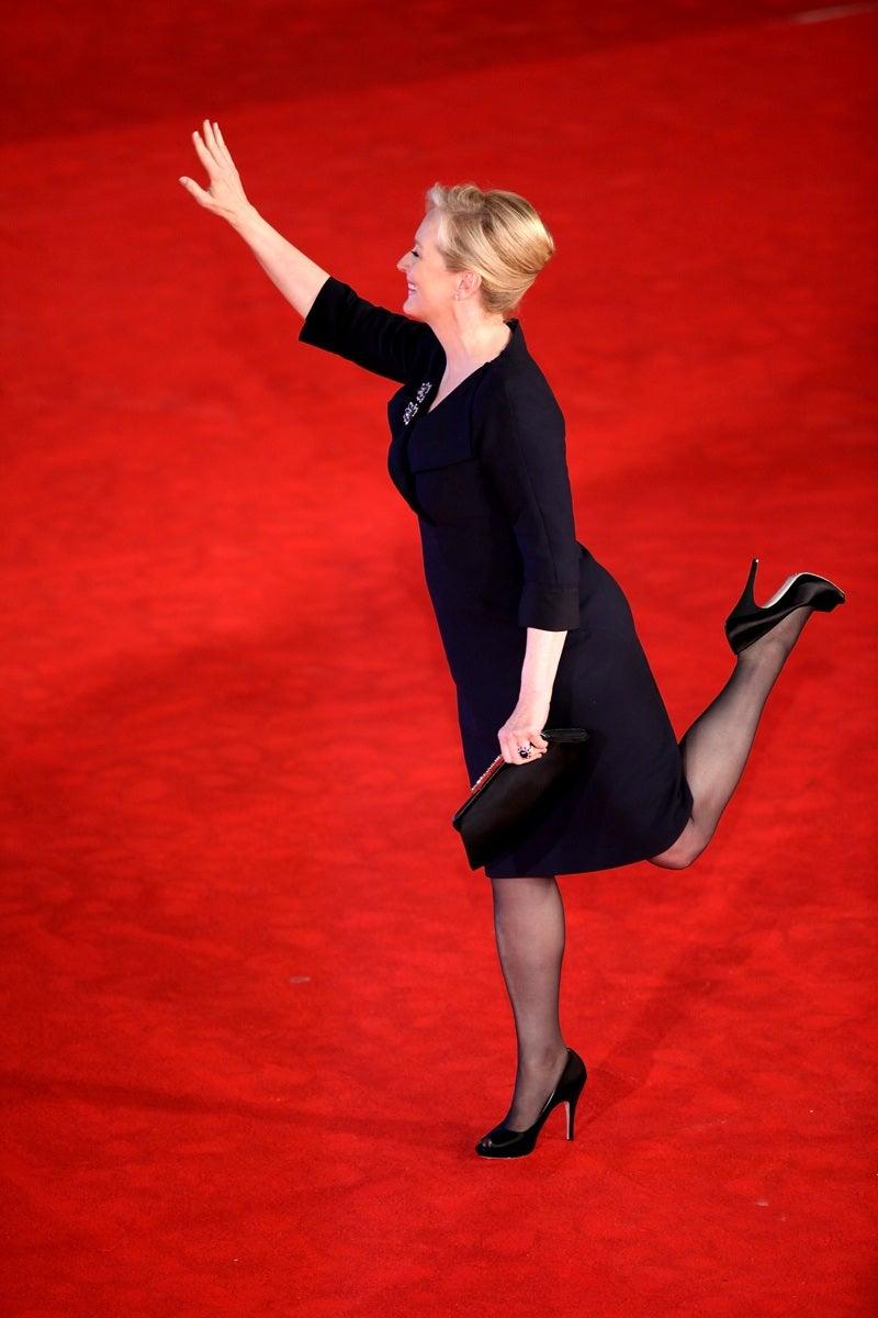 Landing Streep
