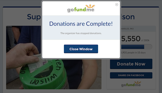 Darren Wilson Fundraisers Halt Donations Amid Reported Tax Issues