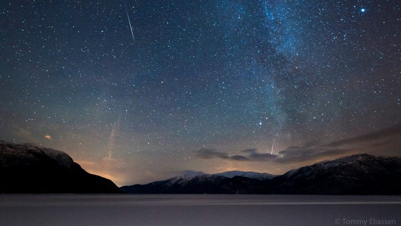 Our favorite photos from this year's Geminid meteor shower