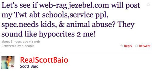 Scott Baio Picks A Fight With Jezebel On Twitter