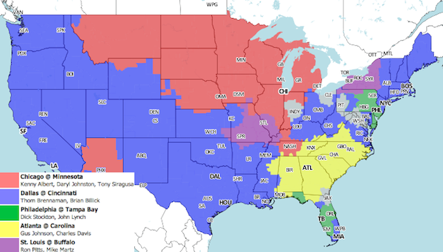 Jim Nantz Should Be Calling This The Battle Of The Beltway: Your NFL Early Games Viewing Guide