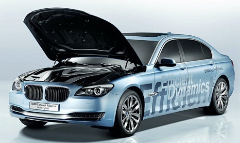 BMW 7-Series Hybrid Concept Revealed Awash In A Sea Of Green Marketing