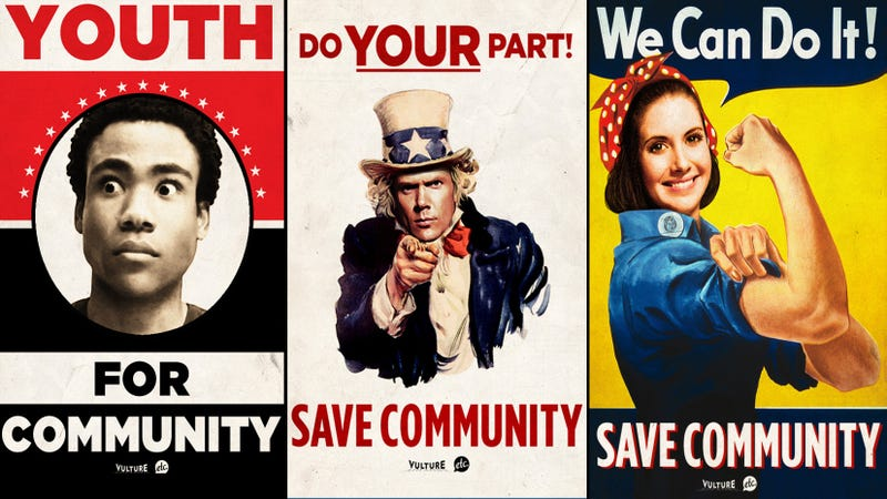 Patriotic Posters Prod Americans To Save Community