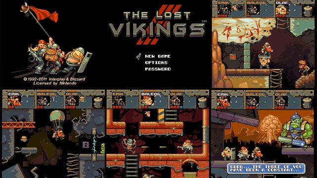 The Lost Vikings Slug It Out