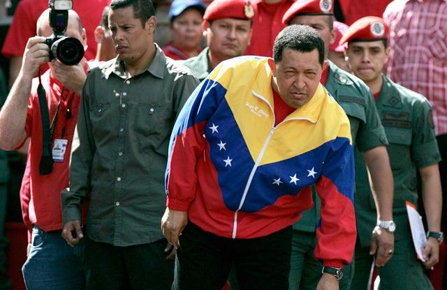 Hugo Chavez Makes Libya Airstrikes About Him