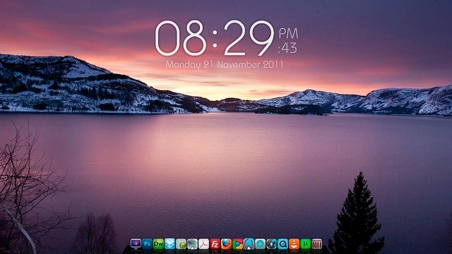 The Soothing and Serene Desktop