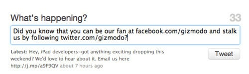 Be Gizmodo's Fan, Friend, or Follower