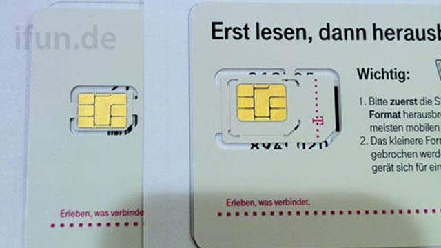 Carriers Just Got the New iPhone's Nano-SIM Cards