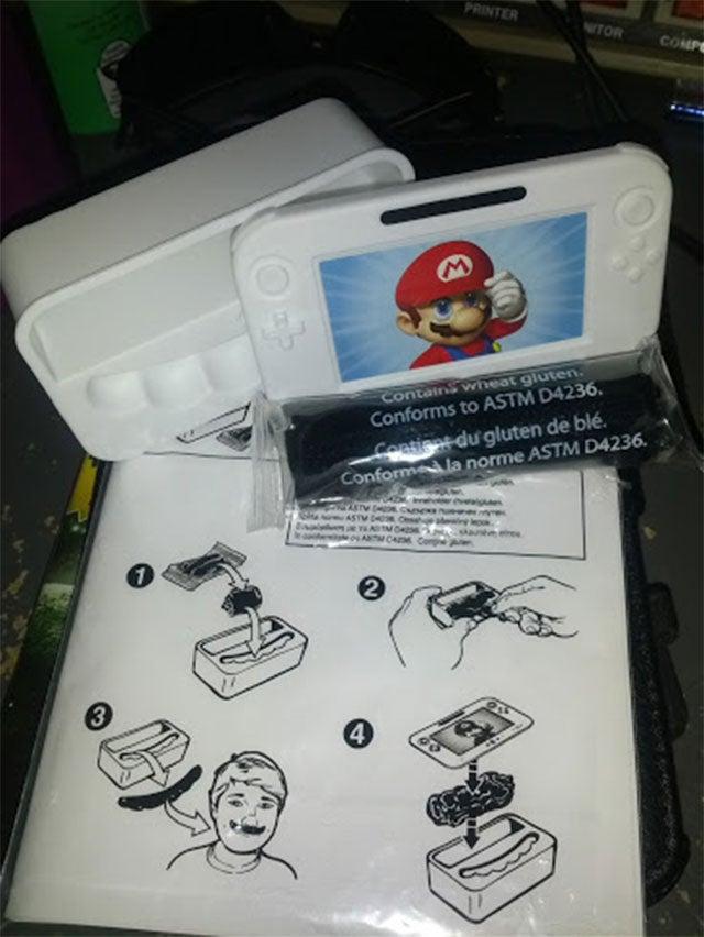 Weird Nintendo Swag Lets You Make Your Own Mario Moustache