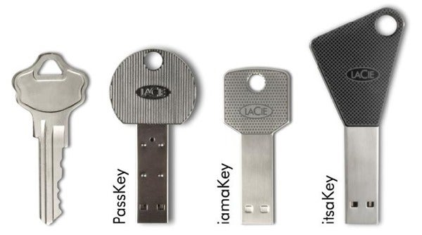 LaCie MicroSD-Reading USB Keys Are More than Just Metaphors
