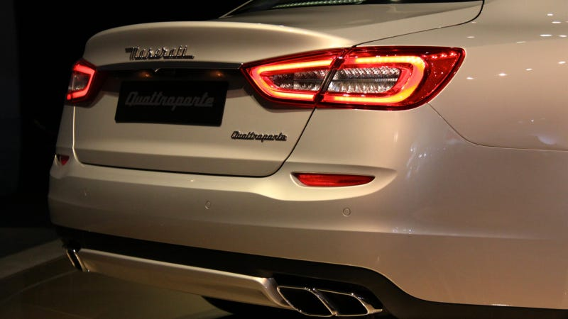 2013 Maserati Quattroporte: Quattro Means Four And Porte Means Doors