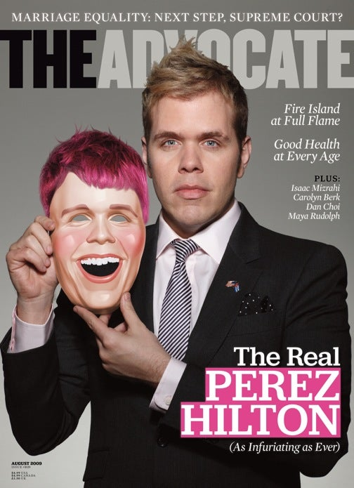 Perez Hilton Would Rather Be a Racist Than Bad for the Gays