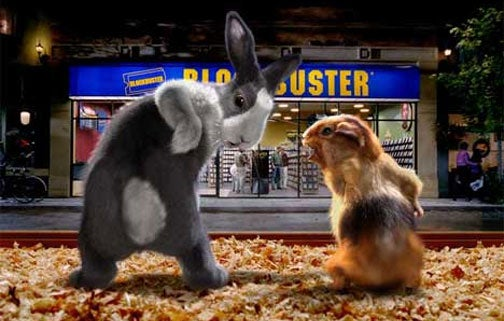 Blockbuster May Be Going Bust