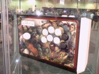 Mad Catz Street Fighter IV Sticks Under Glass