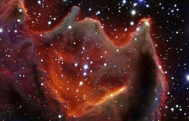 Beautiful New Photo of the Mouth of the Beast Nebula