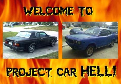 Project Car Hell: IROC Volvo Bertone or Mazda 808?