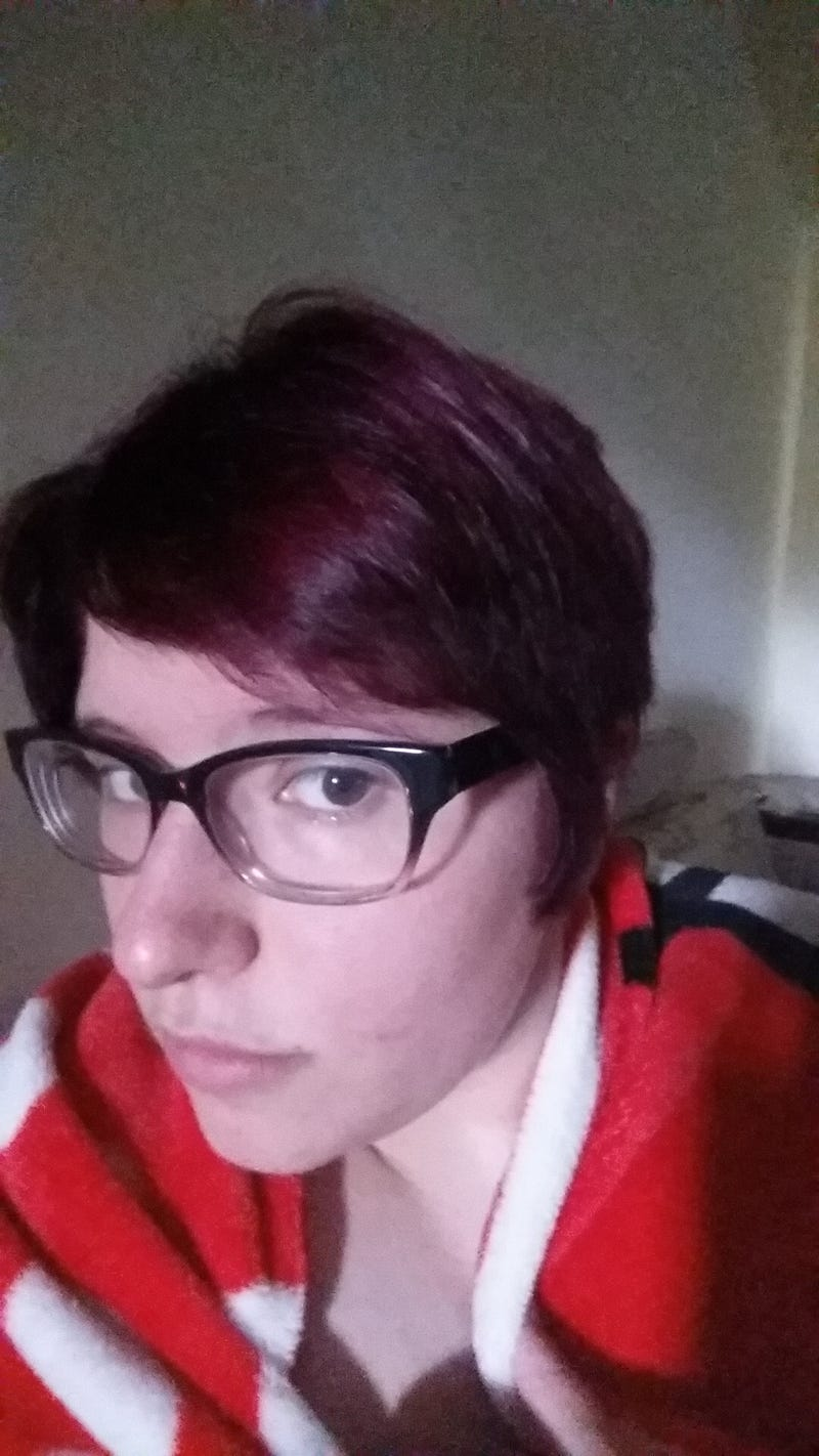 Finally got my hair the color I originally intended!