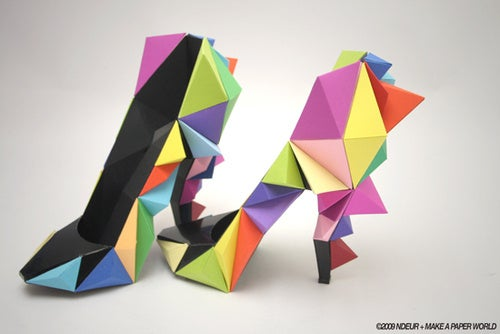 Paper Shoes Gallery