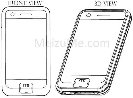 Meizu Patents the Knock-Off