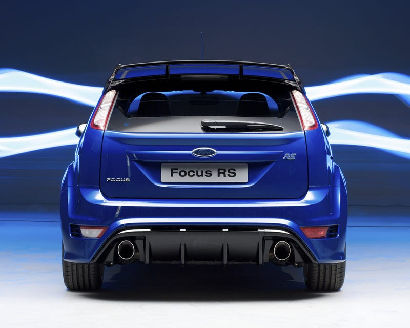 New Ford Focus RS Priced From $38,000