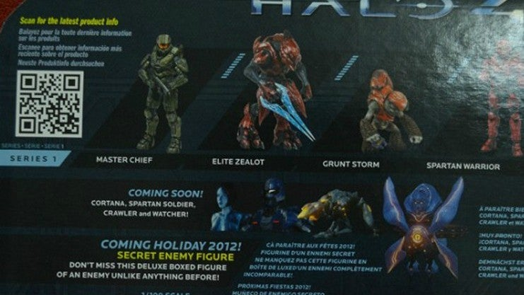 Halo 4 Action Figure Package Reveals New Enemy Types