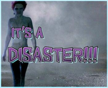 The Walking Disaster!