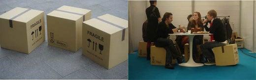 Cardboard Box Furniture
