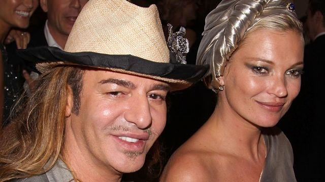 Kate Moss Allegedly Hired John Galliano To Make Her Wedding Dress