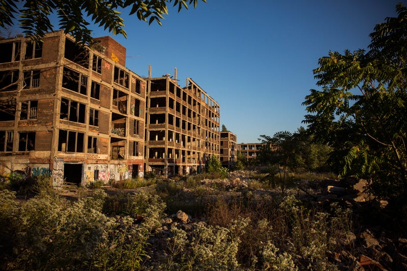 Oh God, The Rich Texans Who Won The Packard Plant Sound Batshit Insane