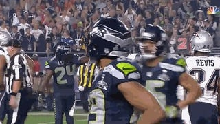 NBC Cut Away From Doug Baldwin's Wonderfully Vulgar TD Celebration