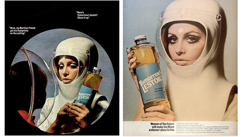 In Space, No One Can Hear Your Outrage Over a Gender Normative Ad for Cleaning Products