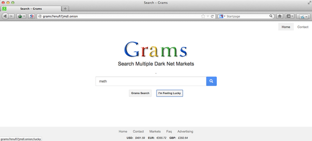 Google Clone Makes It Easy to Search for Drugs and Guns on the Dark Web