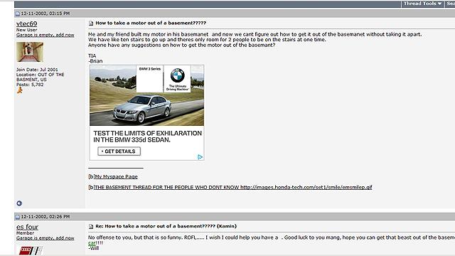 The ten cruelest jokes played on car forums